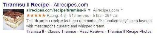 recetas con schema